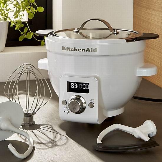 历史新低!厨师机专用 KitchenAid KSM1CBT Precise 可加热搅拌碗5折 149.99加元包邮!