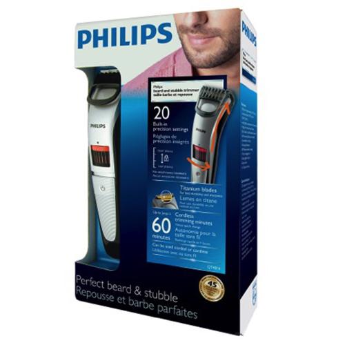 金盒头条:近史低价!Philips 飞利浦 QT4014/16 男士胡须造型剃须刀5.6折 24.99加元!