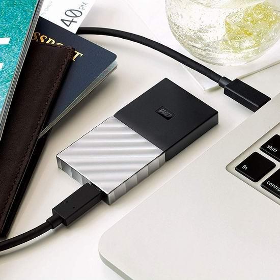 历史最低价!Western Digital 西数 My Passport 迷你超便携 512GB SSD 固态移动硬盘 119.99加元包邮!