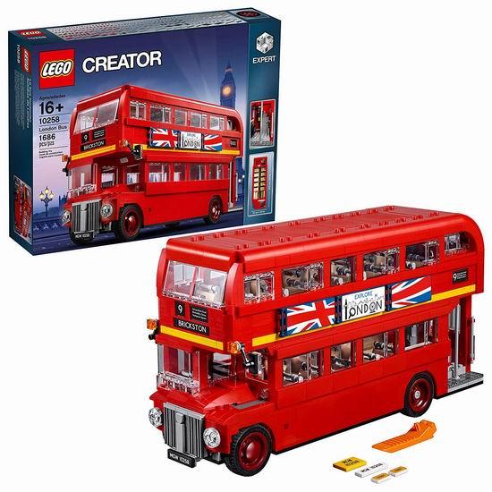 LEGO 乐高 10258 创意系列 伦敦巴士(1686pcs)7.8折 139.99加元包邮!