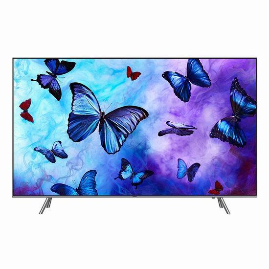 历史新低!Samsung 三星 QN65Q6F Flat 65英寸 QLED 4K超高清智能电视 1999.99加元包邮!