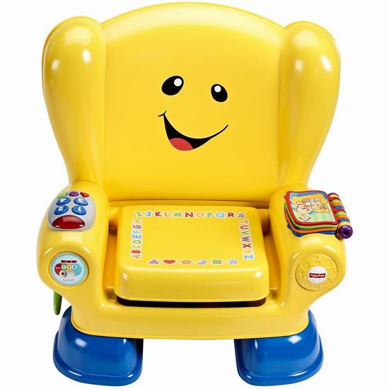 历史新低!Fisher-Price 费雪 Laugh & Learn Smart 智玩宝宝 智能互动学习椅2.6折 18.97加元包邮!会员专享!