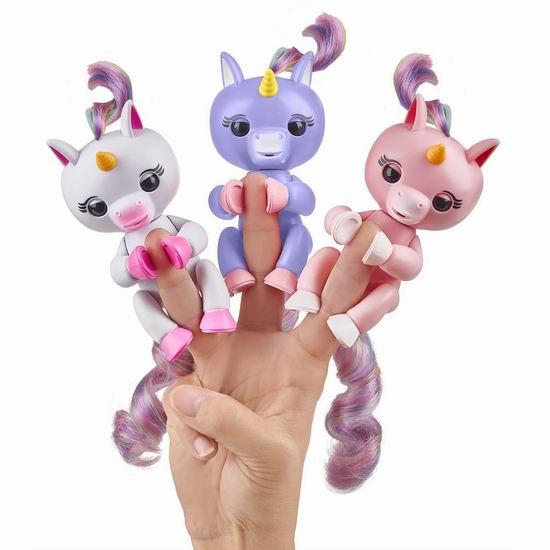 白菜价!WowWee Fingerlings 互动指尖宠物/手指猴1.9折 3.77加元起清仓!多款可选!