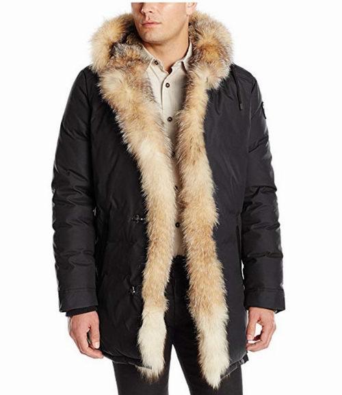 Pajar Nikolai 芬兰狐狸毛修身派克羽绒服 1029.74加元(2色),原价 1553.99加元,包邮