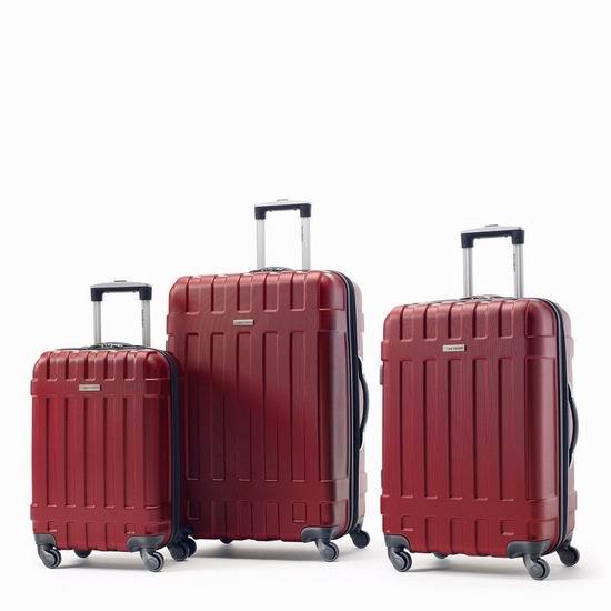 双11独家!精选多款 Samsonite 新秀丽 拉杆行李箱2.3折起!额外8折!折后低至1.8折!