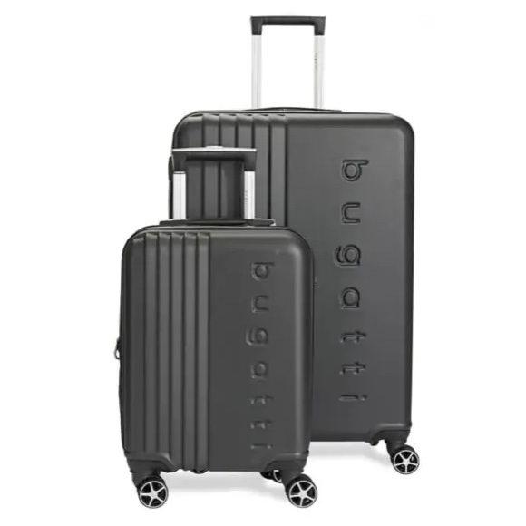 白菜价!Bugatti Montreal 时尚硬壳拉杆行李箱2件套2折 99.99加元包邮!2色可选!仅限今日!