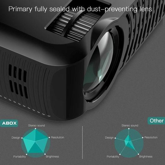 历史新低!GooBang Doo ABOX A2 3000流明 家庭影院LED投影仪 151.99加元限量特卖并包邮!