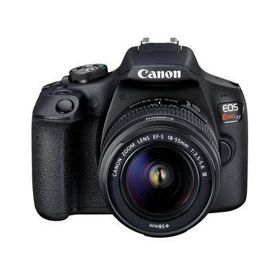 历史新低!Canon 佳能 EOS Rebel T7 单反相机 + 18-55mm DC III 镜头套装 498加元包邮!