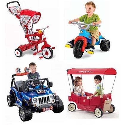 金盒头条:历史新低!精选 Fisher-Price、Little Tikes、Step 2 等品牌儿童电动车、三轮车、拖车、电动平衡板等3.6折起!