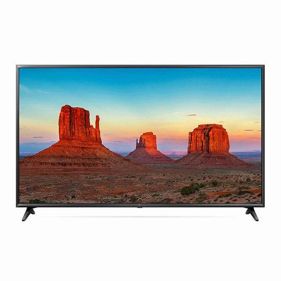 历史新低!LG 65UK6300 65英寸 4K超高清智能电视5.6折 897.99加元包邮!
