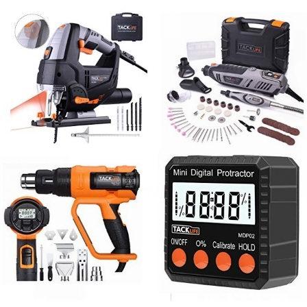 金盒头条:精选多款 Tacklife 家用工具、电动工具等9.49加元起!