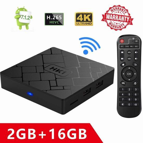RBSCH 网络电视机顶盒(2GB/16GB) 42.49加元限量特卖并包邮!