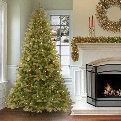 精选 Glucksteinhome 高品质预装彩灯圣诞树2.2折清仓!7英尺圣诞树仅售78.75加元!