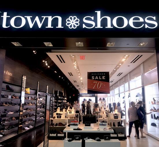 Town Shoes破产清仓!全场鞋靴1.5折起,仅限店内!