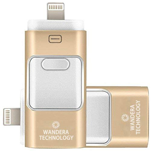 Wandera Technology 128GB 三合一 手机/平板电脑 U盘 15.99加元限量特卖!