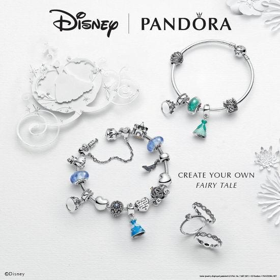 Pandora 潘多拉 Disney系列手镯、串珠等首饰 满125加元送价值65加元迪士尼挎包!