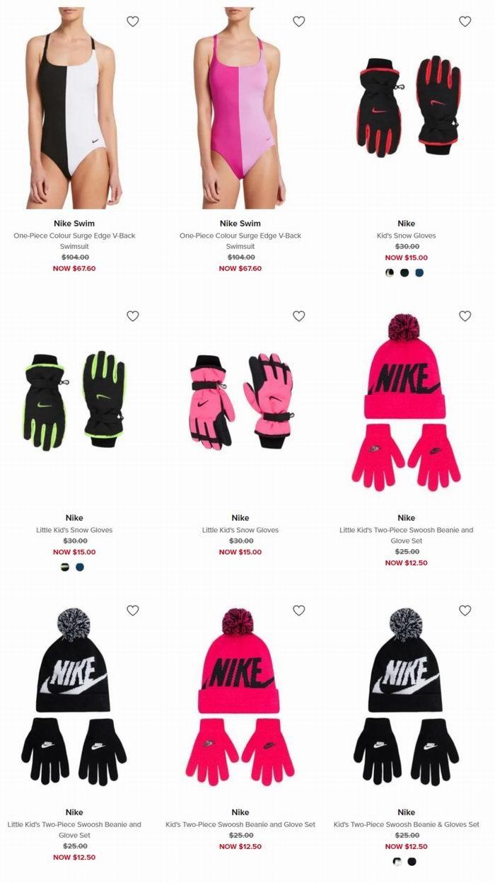 精选 Nike 耐克 时尚运动服、运动鞋、手套5折起+额外8.5折!折后低至10加元!