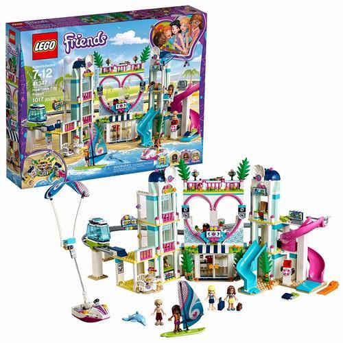 LEGO 乐高 41347 好朋友系列 城市度假村(1017pcs)6.9折 89.99加元包邮!