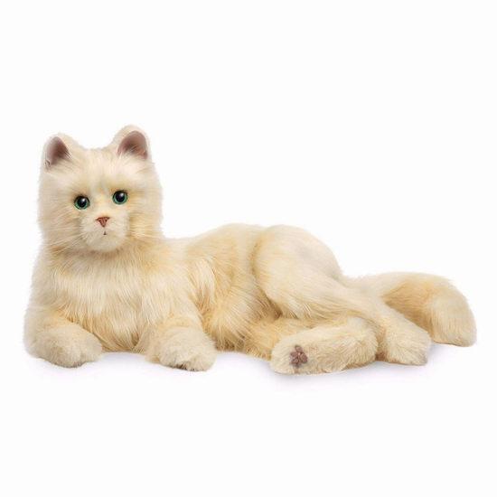 金盒头条:孩之宝 Joy For All 智能互动 仿真宠物猫 97.49-101.24加元包邮!陪伴孩子老人!