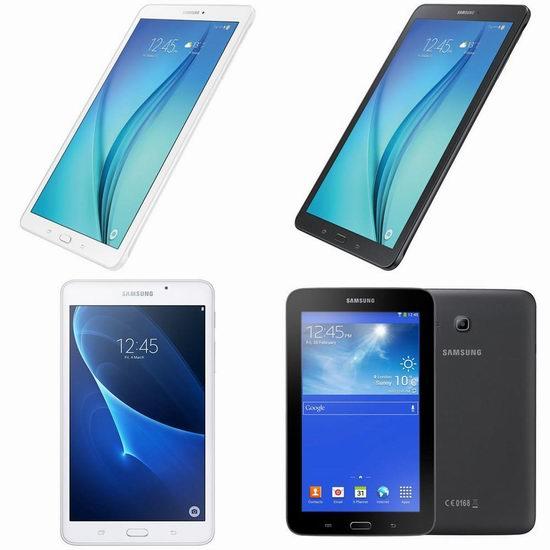 历史新低!Samsung 三星 Galaxy Tablet E 9.6英寸平板电脑 159加元包邮!2色可选!