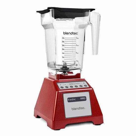 历史新低!Blendtec TB-631-20 Total 全营养多功能破壁料理机4.1折 324.51加元包邮!