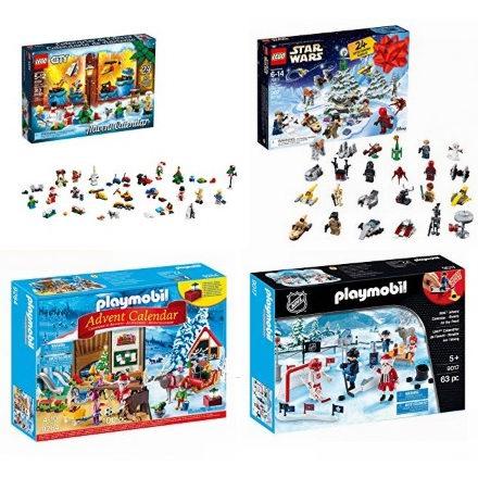 金盒头条:历史新低!精选多款 Lego、Playmobil 等品牌圣诞倒数日历玩具3.1折起!