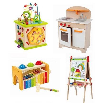 金盒头条:精选21款德国 Hape 天然环保无毒 精美木质益智玩具5.1折起!售价低至11.29加元!