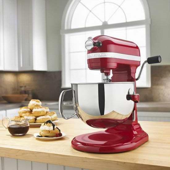 Bug价今晚结束!KitchenAid 专业600系列 600TM 6夸脱1马力超大马力 多功能搅拌厨师机 339.99加元包邮+返款100加元!