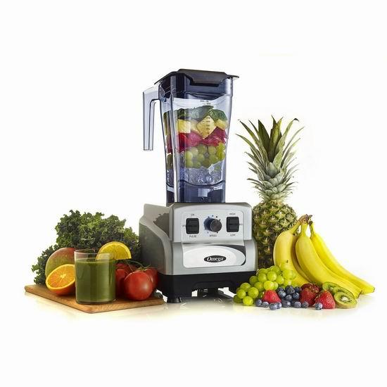 历史新低!Omega Juicers OM6560S 3马力 全营养破壁搅拌机4折 248加元包邮!