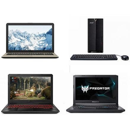 黑五专享:精选多款 Acer、Asus、HP 品牌笔记本电脑、台式机最高立省380加元!低至439.99加元!