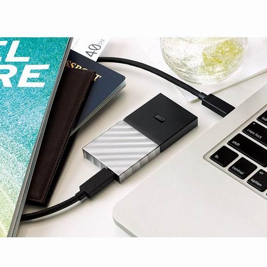 历史新低!Western Digital 西数 My Passport 迷你超便携 512GB SSD 固态移动硬盘 129.99加元包邮!