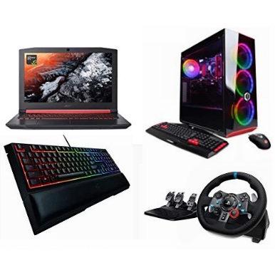 黑五专享:精选大量 Acer、Corsair、Razer、Logitech 等品牌游戏笔记本电脑、台式机、游戏键盘、鼠标、内存、固态硬盘、游戏耳机、手柄、游戏方向盘等5折起!
