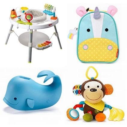 精选 Skip Hop 婴幼儿小书包、妈妈包、游戏椅、餐具、水杯、小玩具等7折起!