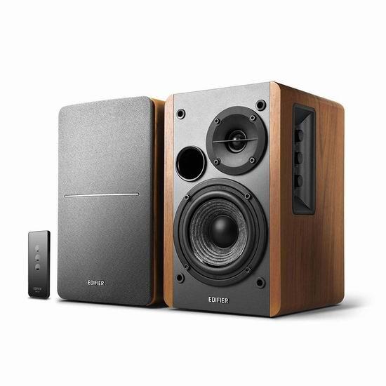 网购周专享:历史新低!Edifier 漫步者 R1280T 木质2.0多媒体音箱 87.99加元包邮!