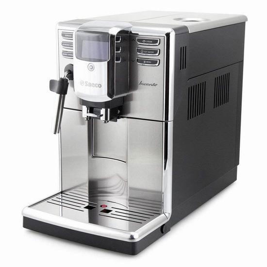 网购周专享:Philips 飞利浦 HD8911/67 Saeco Incanto 全自动 意式咖啡机 899.99加元包邮!