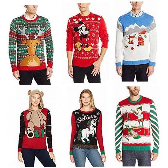 金盒头条:精选多款男女时尚圣诞毛衣 11.99加元起!