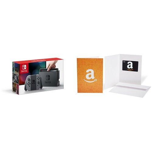 Nintendo 任天堂 Switch 便携式游戏机+亚马逊30加元礼品卡 379.99加元包邮!