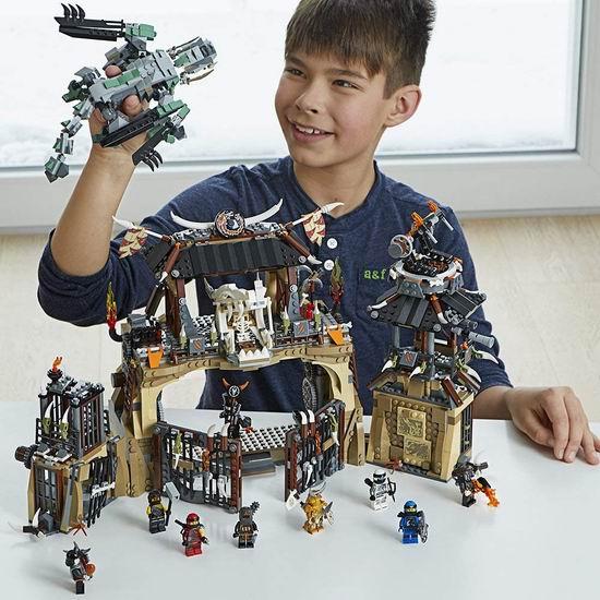 历史新低!LEGO 乐高 70655 幻影忍者 捕龙部落大本营(1660pcs)6.3折 100.54加元包邮!