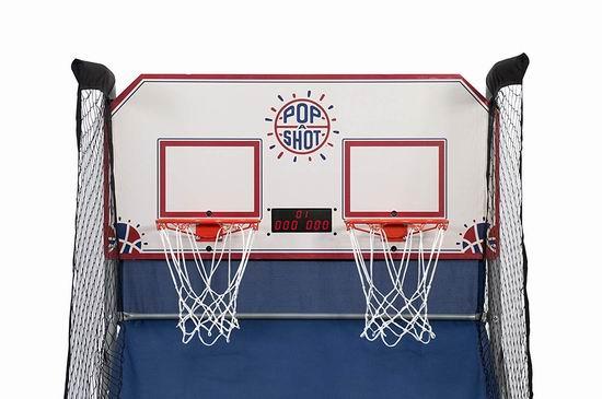 网购周专享:Pop-A-Shot 10合一 家庭双人电子投篮机6.5折 279.99加元包邮!