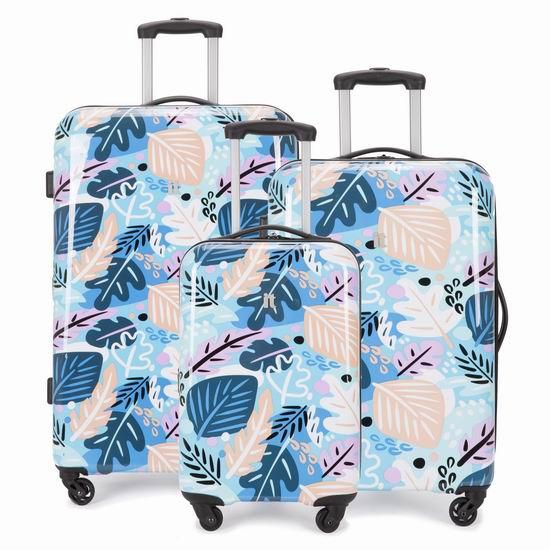 白菜价!IT luggage Beachcomber 高颜值 全PC 拉杆行李箱3件套1.7折 174.99加元清仓并包邮!