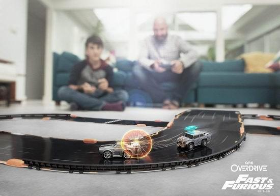 折扣升级!历史新低!Anki Overdrive 速度与激情版 智能遥控车套装2.7折 64.8加元清仓并包邮!