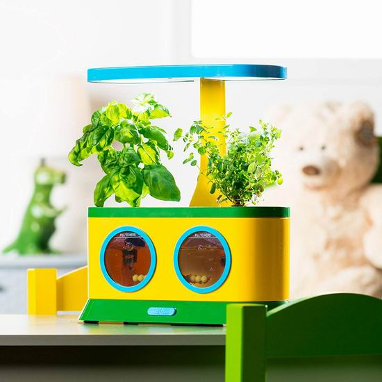 历史新低!AeroGarden Herbie 儿童室内小花园+披萨派对种子套装 49.99加元包邮!