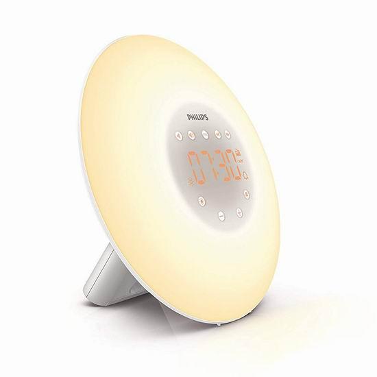历史最低价!Philips 飞利浦 HF3506/65 带FM收音自然唤醒灯/台灯 59.99加元包邮!
