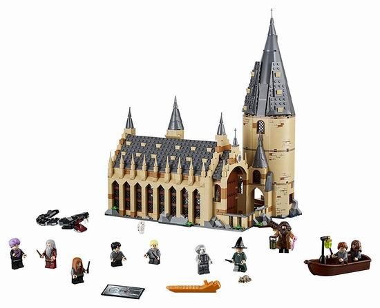 爆款单品:LEGO 乐高 75954 哈利波特 霍格沃茨大礼堂(878pcs) 99.99加元包邮!