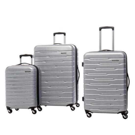 今日闪购:Samsonite 新秀丽 In-Flight Tea 时尚硬壳拉杆行李箱3件套2.5折 212.49加元包邮!2色可选!目前需加入购物车自动减价!