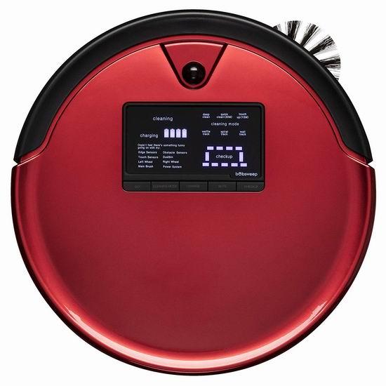 超级白菜!历史新低!bObsweep WPP56001RO Pethair 智能扫地拖地机器人1.7折 206.98加元包邮!