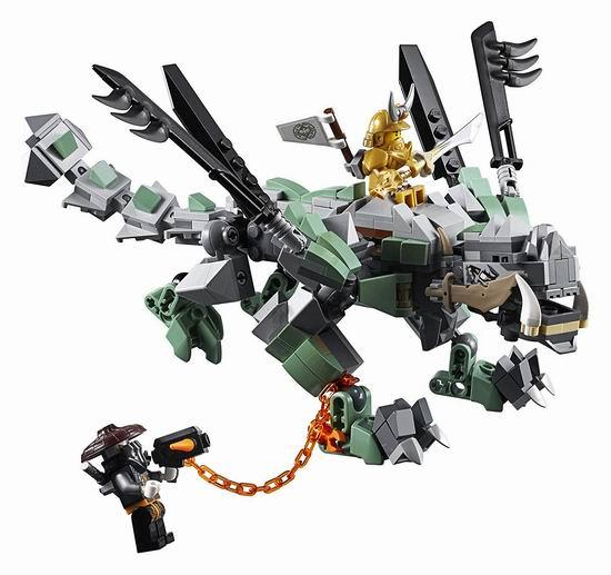 LEGO 乐高 70655 幻影忍者 捕龙部落大本营(1660pcs)6.1折 97.62加元包邮!