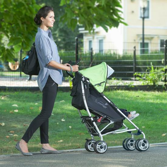 销量冠军!Summer Infant 3D Lite 超轻婴儿推车 89.97加元包邮!8色可选!