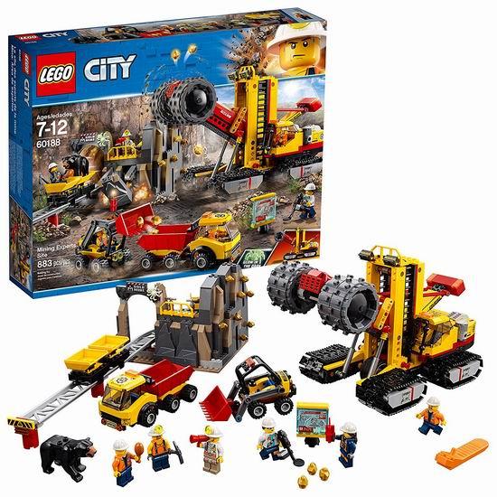 LEGO 乐高 60188 城市组系列 采矿专家基地(883pcs)6.2折 79.99加元包邮!