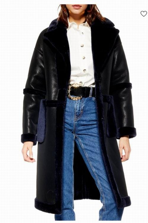 精选 Topshop 女士防寒服、大衣、夹克等2.4折起+买一送一+包邮!